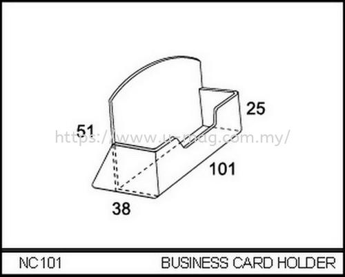 NC101 BUSINESS CARD HOLDER BROCHURE STAND Malaysia, Johor Bahru (JB), Ulu Tiram Manufacturer, Supplier, Supply, Supplies   U-Mag Acrylic Products (M) Sdn Bhd