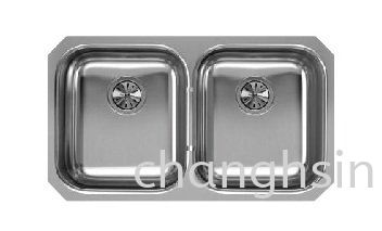 DOUBLE BOWL (CH3219F) HIGH GRADE SERIES SINKS Malaysia, Kedah, Kulim Supplier, Manufacturer, Supply, Supplies   Chang Hsin Industry (M) Sdn Bhd