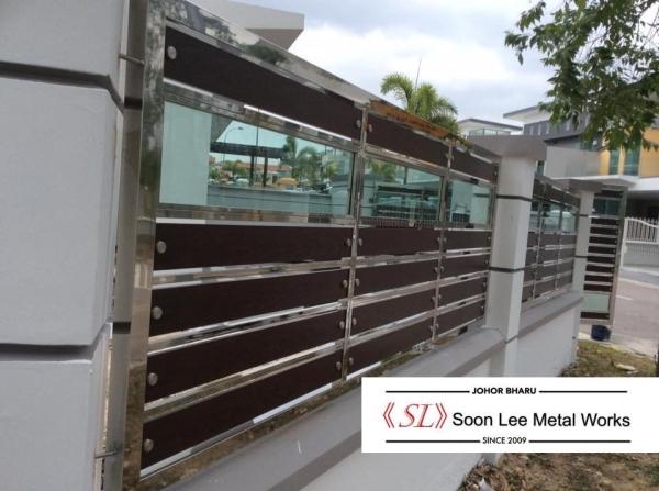 Railing / Fencing Railing / Fencing Johor Bahru (JB), Malaysia, Ulu Tiram Supplier, Suppliers, Supply, Supplies | Soon Lee Steel & Iron Works Sdn Bhd