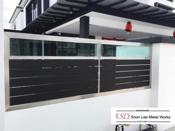 Railing / Fencing Gate Fence FENCING Johor Bahru (JB), Malaysia, Ulu Tiram Supplier, Suppliers, Supply, Supplies | Soon Lee Steel & Iron Works Sdn Bhd