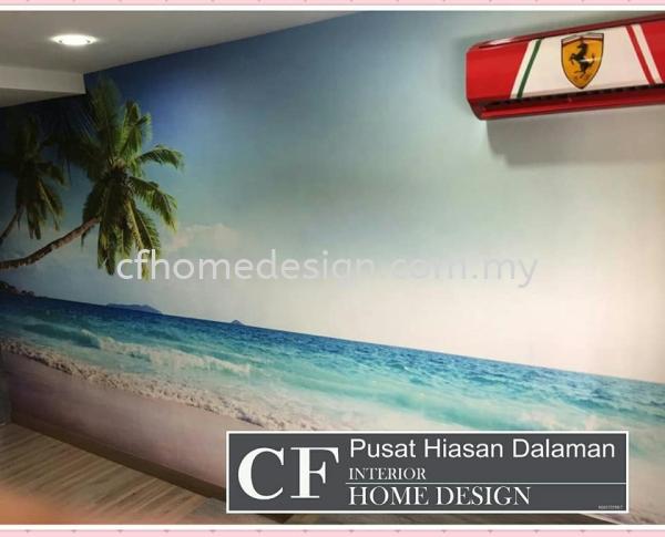 MURAL WALLPAPER WALLPAPER Seremban, Negeri Sembilan, Malaysia Supplier, Suppliers, Supply, Supplies | CF Interior Home Design