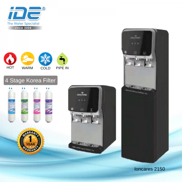 IonCares Water Purifier ( Hot&Normal&Cold) Direct Piping Water Dispenser Johor Bahru JB Malaysia Supply, Supplier & Wholesaler | Ideallex Sdn Bhd