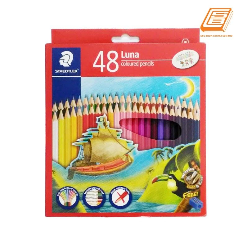 Staedtler 48 Luna Coloured Pencils - (136 C36)