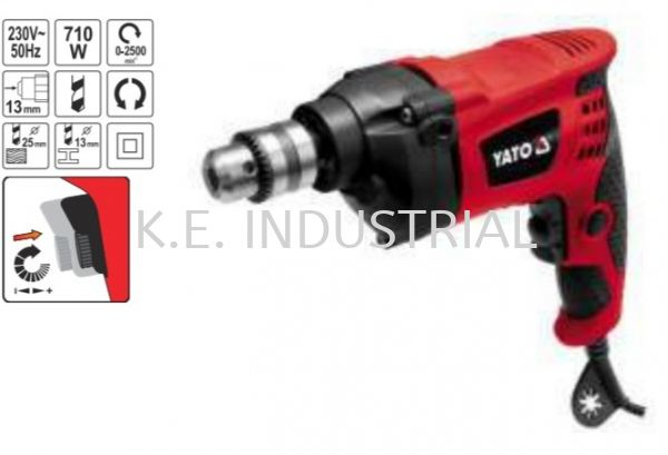 ELECTRIC DRILL(YT-82052) Power Tools & Machinery Selangor, Klang, Malaysia, Kuala Lumpur (KL) Supplier, Suppliers, Supply, Supplies | K.E. Industrial Supply Sdn Bhd