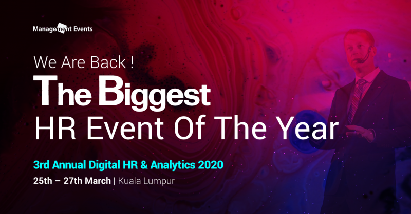 Digital HR and Analytics 2020 March 2020 Malaysia Future, Upcoming, Fair, Exhibition | NEWEVENT MALAYSIA