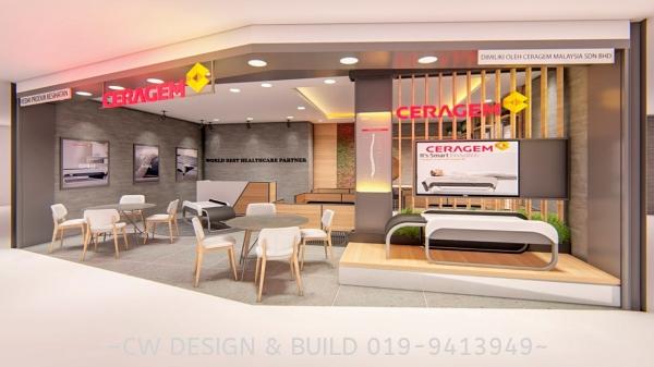 Ceragem Bed Retail Shop @ Aeon Taman Maluri, Kuala Lumpur, Malaysia Shopping Mall Retail Shop Commercial Design Selangor, Malaysia, Balakong, Kuala Lumpur (KL) Services, Design, Renovation, Company | CW Design & Build Sdn Bhd