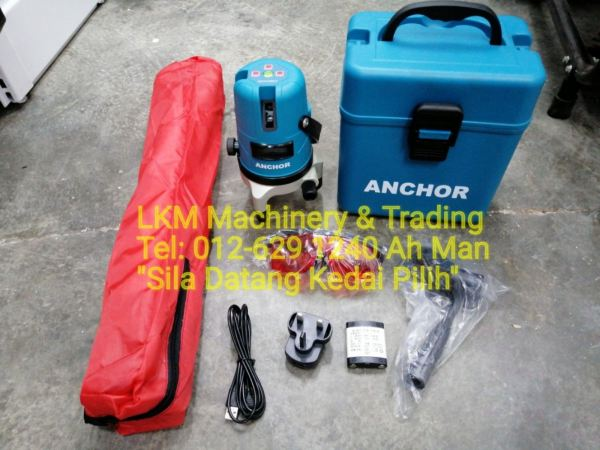 3 Line Leveling Laser Set with Tripod, Rechargeable Battery & Spec Promotion 2019 Seremban, Negeri Sembilan (NS), Malaysia. Supplier, Suppliers, Supply, Supplies | LKM Machinery & Trading