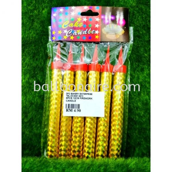 Firework Candles / Birthday Candles Fragrance & Candles Celebration Candles Kuala Lumpur (KL), Malaysia, Selangor Supplier, Suppliers, Supply, Supplies | Balloonaire Sdn Bhd