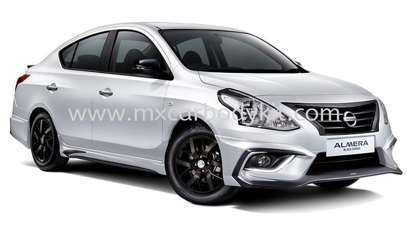 NISSAN ALMERA 2018 BLACK SERIES BODYKIT WITH SPOILER ALMERA 2015-2019 NISSAN  Johor, Malaysia, Johor Bahru (JB), Masai. Supplier, Suppliers, Supply, Supplies | MX Car Body Kit