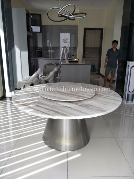 Modern Marble Dining Table  Marble Dining Table Malaysia, Selangor, Kuala Lumpur (KL), Petaling Jaya (PJ) Supplier, Suppliers, Supply, Supplies | DeCasa Marble Sdn Bhd