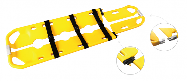 Scoop Stretcher (Thermal Treated Polymer) Scoop Stretcher Stretcher Malaysia, Selangor, Kuala Lumpur (KL), Puchong Manufacturer, Supplier, Supply, Supplies | MediShield First Aid Supplies Sdn Bhd