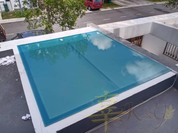 Glass Roofing Pergola Selangor, Malaysia, Kuala Lumpur (KL), Semenyih Service, Contractor, Supplier, Supply | K & Y Awning Renovation