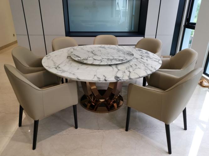 Modern Marble Dining Table - Italian Marble