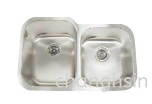 BIG & SMALL DOUBLE SINK (CH3221A)