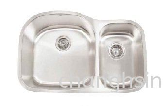 BIG & SMALL DOUBLE SINK (CH3220F) HIGH GRADE SERIES SINKS Malaysia, Kedah, Kulim Supplier, Manufacturer, Supply, Supplies | Chang Hsin Industry (M) Sdn Bhd