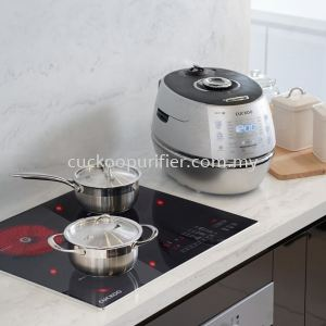 Use the CH10, Kyndell Premium Cookware set alongside the Inductrio and feel like a chef