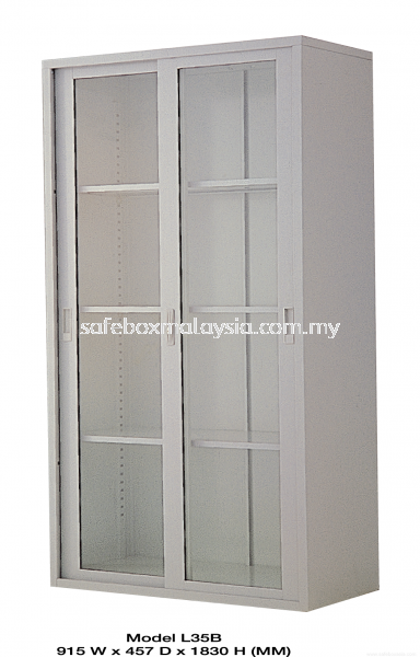 Full Height Cupboard Come With Glass Sliding Door Full Height Steel Cupboard Steel Furniture Malaysia, Selangor, Klang, Kuala Lumpur (KL) Supplier, Suppliers, Supply, Supplies | Safe Box Asia Sdn Bhd