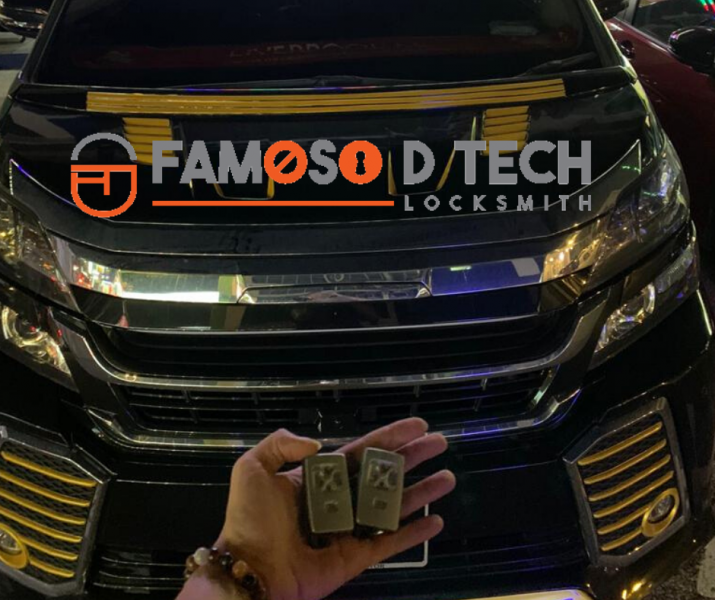 Toyota Vellfire Adding Smart Key Smart Key Car Key Service Johor Bahru (JB), Masai, Malaysia Supplier, Supply, Service | Famoso D Tech Enterprise