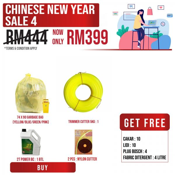 Chinese New Year Sale 4 Cleaning Product Promotion Sale & Promotion Selangor, Klang, Malaysia, Kuala Lumpur (KL) Supplier, Suppliers, Supply, Supplies | HH Plastech Industries Sdn Bhd