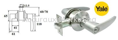 Yale L4440 Cylinder Leverset Cylindrical Tubular 01. ARCHITECTURAL HARDWARE Selangor, Malaysia, Kuala Lumpur (KL), Sungai Buloh Supplier, Distributor, Supply, Supplies | Accuraux Marketing Sdn Bhd