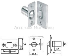 Adjustable Ball Catch, SS Door Latch 01. ARCHITECTURAL HARDWARE Selangor, Malaysia, Kuala Lumpur (KL), Sungai Buloh Supplier, Distributor, Supply, Supplies | Accuraux Marketing Sdn Bhd