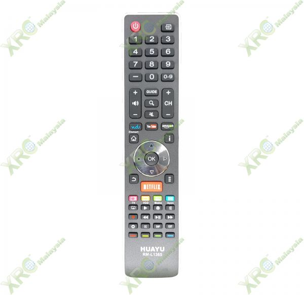 RM-L1365 HISENSE NETFLIX LCD LED TV REMOTE CONTROL HISENSE LCD/LED TV REMOTE CONTROL Johor Bahru JB Malaysia Manufacturer & Supplier | XET Sales & Services Sdn Bhd