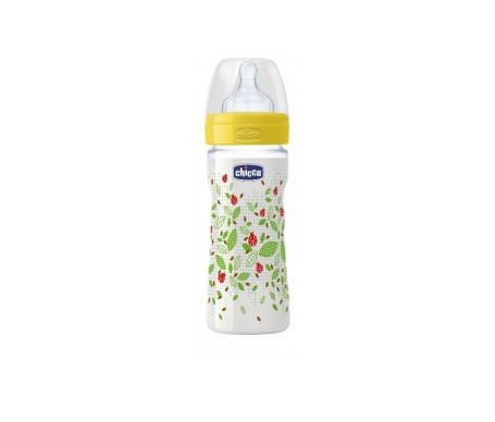 Chicco Well-Being Silicone Feeding Bottle 330ml (CC70770-80) Chicco Bottle Johor Bahru (JB), Malaysia, Taman Ekoperniagaan Supplier, Suppliers, Supply, Supplies | Top Full Baby House (M) Sdn Bhd