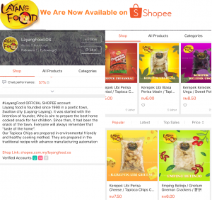 We Are On Available on SHOPEE