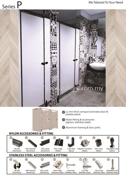 Series P Series P Toilet Cubicles Johor Bahru (JB), Malaysia, Tebrau Supplier, Suppliers, Supply, Supplies | CUBISM