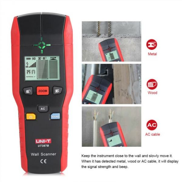 UT387 UNI-T WALL SCANNER  WALL SCANNER PROFESSIONAL TOOLS Johor Bahru JB Malaysia Manufacturer & Supplier | XET Sales & Services Sdn Bhd
