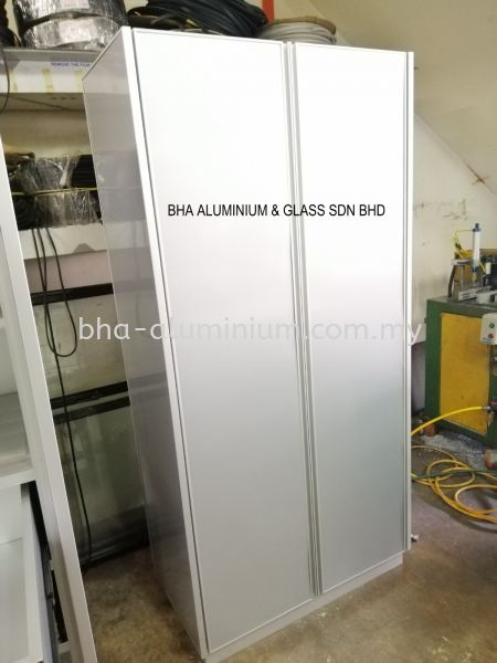 FULL BODY ALUMINIUM CABINET Johor Bahru (JB), Johor, Muar Supplier, Suppliers, Supply, Supplies | BHA Aluminium & Glass Sdn Bhd