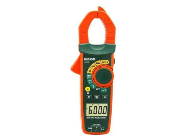 Extech EX650 True RMS 600A Clamp Meter with NCV  EXTECH ELECTRONIC HARDWARE PRODUCT Kuala Lumpur (KL), Selangor, Malaysia Supplier, Supply, Supplies, Distributor | JLL Electrical Sdn Bhd