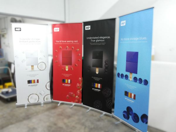 Roll Up Stand Ready Made Display Stand Custom And Ready Made Display Stand Selangor, Malaysia, Kuala Lumpur (KL), Puchong Supplier, Suppliers, Supply, Supplies | ProDeco Print