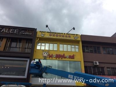 Happyland Aluminium Box Up Signboard