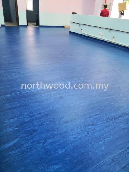 Vinyl sheet Blue Jitra Hospital  Vinyl Sheet Kedah, Malaysia, Perlis, Penang, Alor Setar, Sungai Petani Supplier, Installation, Supply, Supplies | North Wood Enterprise