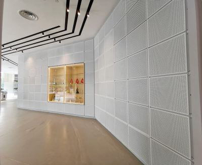 Perforated Facade Panel / Screening