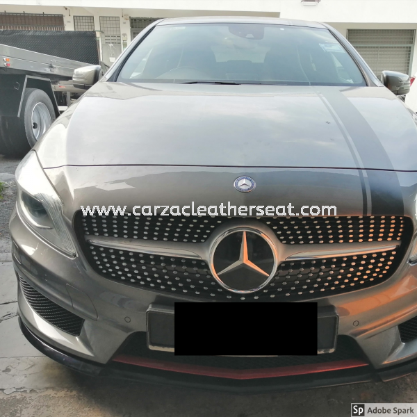 MERZ A250 SEAT CENTRE REPLACE SYNTHETIC LEATHER Car Leather Seat Cheras, Selangor, Kuala Lumpur, KL, Malaysia. Service, Retailer, One Stop Solution | Carzac Sdn Bhd
