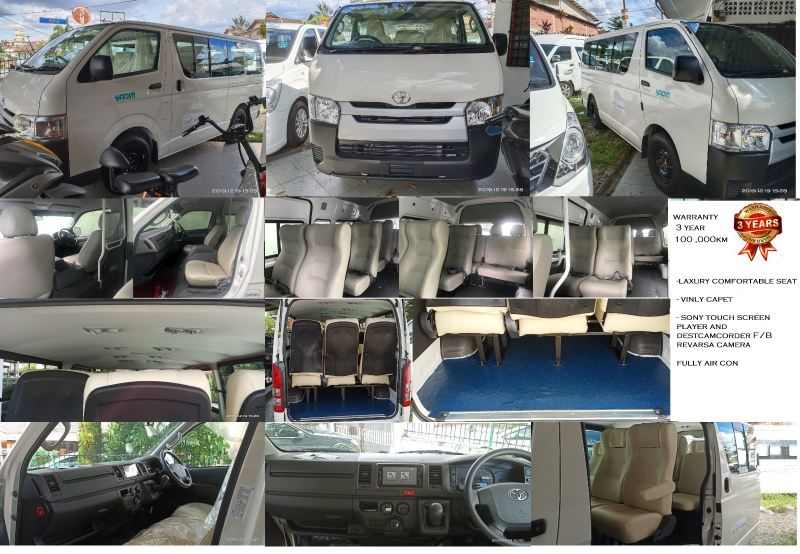 New TOYOTA HIACE 2.5l DIESEL LOW ROOF WINDOW VAN  VAN ACCERSORIES  Kuala Lumpur (KL), Malaysia, Selangor Supplier, Suppliers, Supply, Supplies | Mobile Life Automobil Sdn Bhd