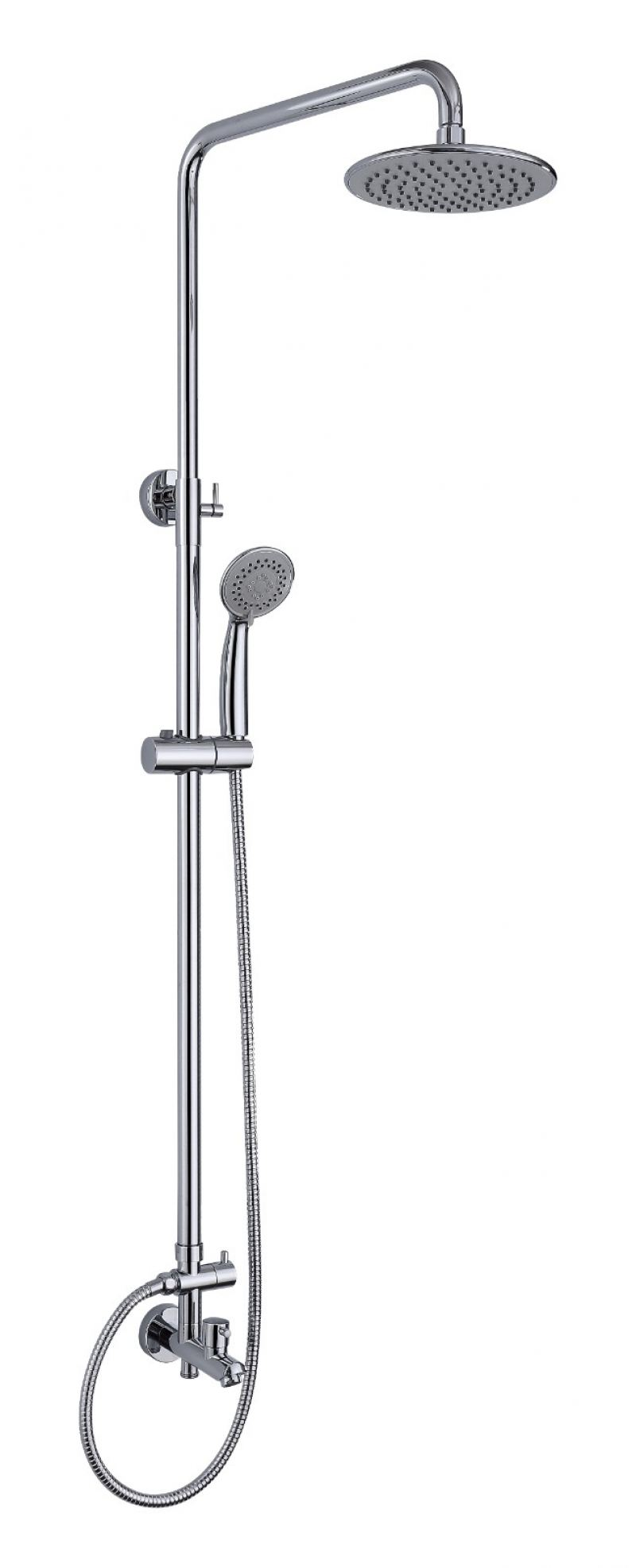 Exposed Shower Set 3 Way Brass CH