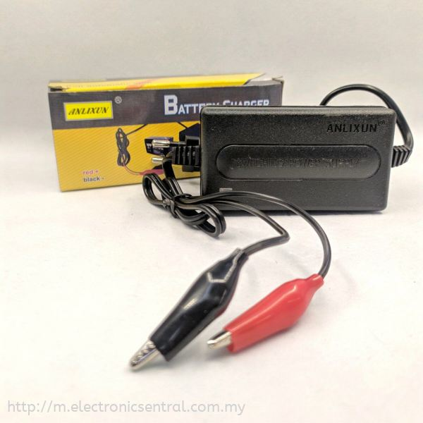 BATTERY CHARGER 12V 2Amp BATTERY RECHARGEABLE Melaka, Malaysia, Peringgit Supplier, Suppliers, Supply, Supplies | Perniagaan Elektronik Sentral
