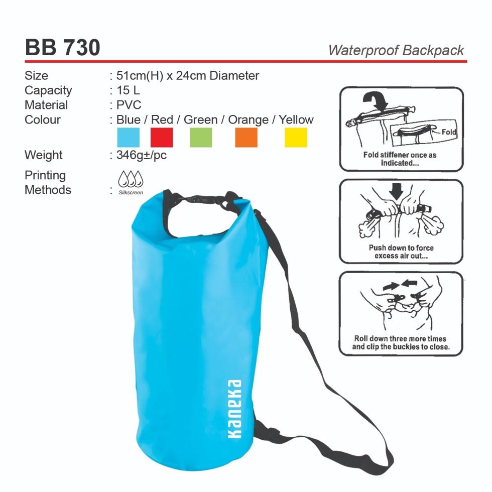BB730 Waterproof Backpack