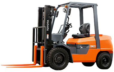 Forklift (3 tonne diesel TOYOTA forklift) Others Johor Bahru (JB), Malaysia, Masai Rental, Supplier | Megah Machinery
