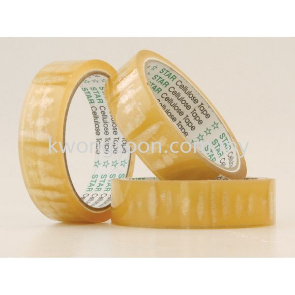 Star Cellulose Tape 12mm 18mm 24mm Tape Chinese New Year CNY event use product Johor Bahru (JB), Malaysia, Johor Jaya Supplier, Wholesaler, Retailer, Supply | Kwong Soon Trading Co.