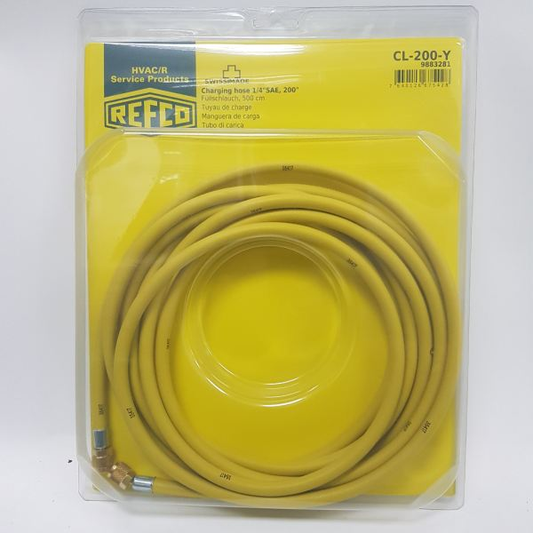 REFCO CL-200-Y Charging Hose (16.67ft) Charging Hose Selangor, Malaysia, Kuala Lumpur (KL), Shah Alam Supplier, Suppliers, Supply, Supplies | Precizion Tools