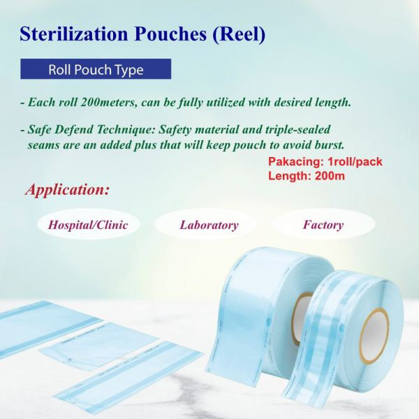Sterilization Pouches (Reel) Sterilization Pouches Disposable Products Selangor, Malaysia, Kuala Lumpur (KL), Puchong Supplier, Suppliers, Supply, Supplies | USE Electronics (M) Sdn Bhd