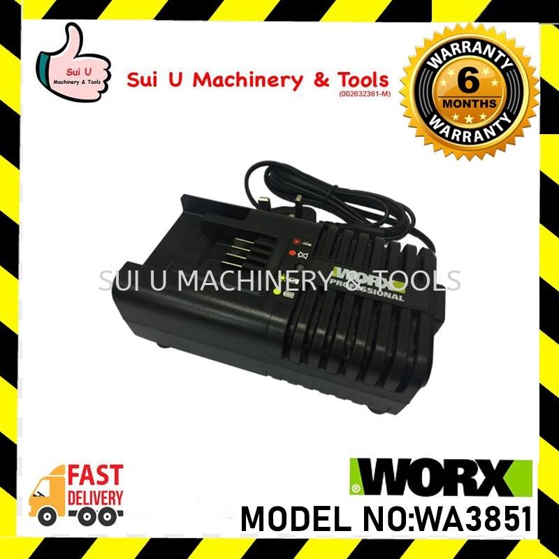 WORX WA3851 20V Battery Charger