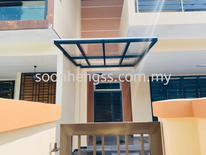 POLYCARBONATE AWNING METAL WORKS Johor Bahru (JB), Skudai, Malaysia Contractor, Manufacturer, Supplier, Supply | Soon Heng Stainless Steel & Renovation Works Sdn Bhd