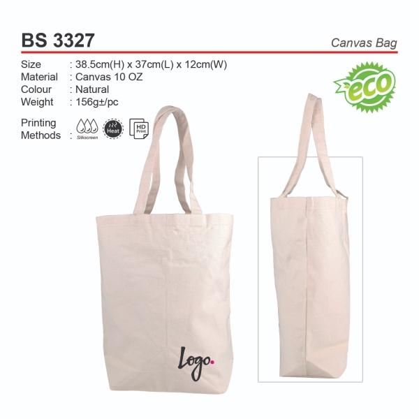 BS3327 Canvas Bag Non Woven Bags Souvenir Selangor, Kuala Lumpur (KL), Malaysia, Klang, Cheras, Shah Alam Supplier, Suppliers, Supply, Supplies   R&E Corporation (M) Sdn Bhd