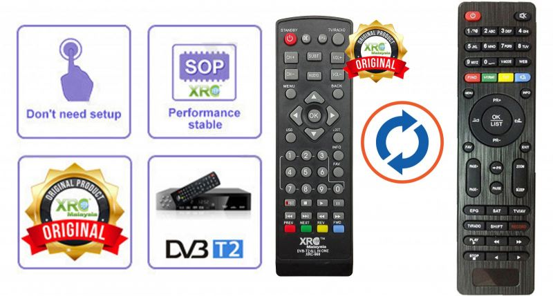 DVB-T2 REMOTE CONTROL DVB-T2 REMOTE CONTROL DVB REMOTE CONTROL Johor Bahru JB Malaysia Manufacturer & Supplier | XET Sales & Services Sdn Bhd