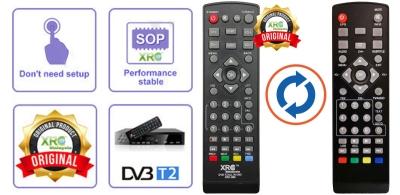 VTC DVB-T2 REMOTE CONTROL